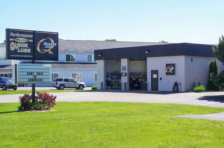 oil change store in Charlevoix