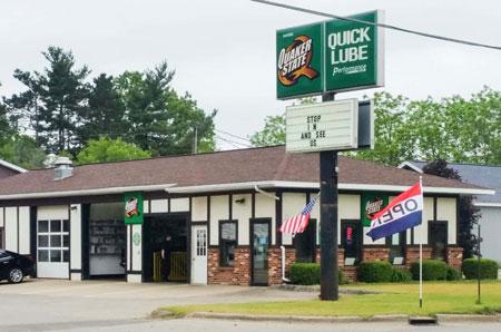 oil change store in Greenville