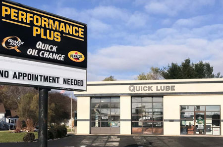 oil change store in Holland
