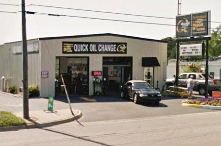 oil change store in Ludington