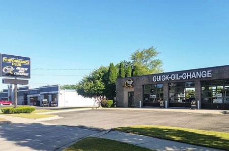 oil change store in Mt Pleasant