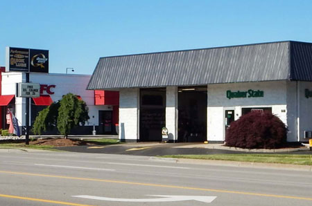 oil change store in Portage
