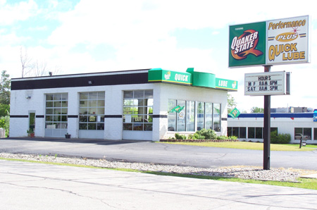 oil change store in Gladwin