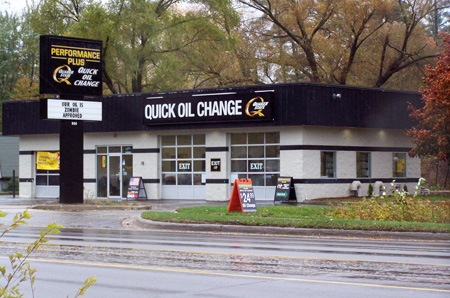 oil change store in Traverse City